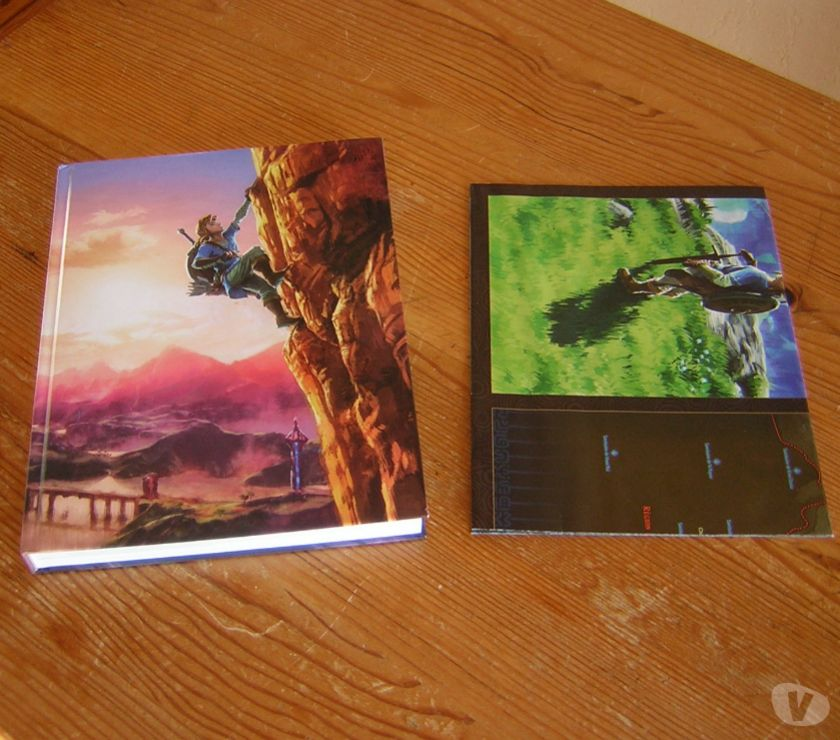 Photos Vivastreet Zelda-Breath of the Wild guide officiel collector