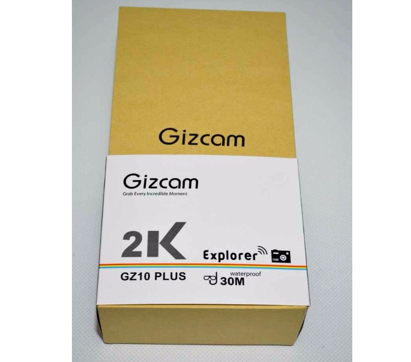 """Caméra sport action 4K Gizcam GZ10+ neuve - St Flour - Je vends une caméra sport action """"Gizcam GZ10+"""" neuve. La caméra est vendue avec différents accessoires de fixation boîtier de protection étanche, etc. Photos avec résolution de 16Mo, enregistrement vidéo en 4K à 25 images/seconde. Cam"""