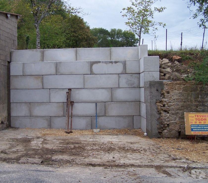 mur b ton sout nement blocs gabion perrigny 39570 mat riel pas cher d 39 occasion vivastreet. Black Bedroom Furniture Sets. Home Design Ideas