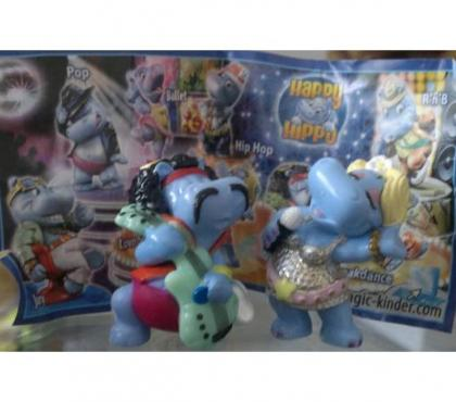 Photos Vivastreet 2 figurines kinder suprise Happy hippo