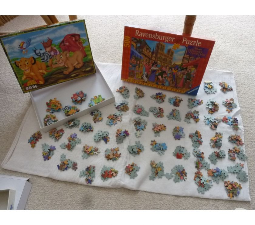 Photos Vivastreet 2 puzzles Walt disney (50 pièces et 500 pièces)