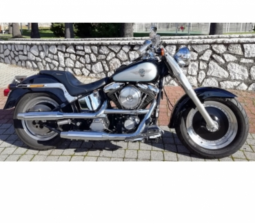 Photos Vivastreet HARLEY DAVIDSON 1340 SOFTAIL FAT BOY ÉVOLUTION 16836 KMS !!