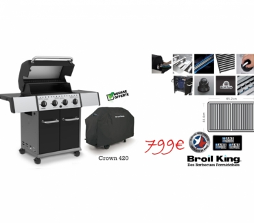Photos Vivastreet Promotion barbecue gaz Crown 420 Broil King