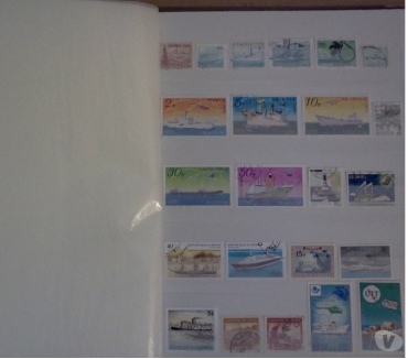 Photos Vivastreet TRES GROSSE COLLECTION DE TIMBRES THEME BATEAUX EN ALBUM
