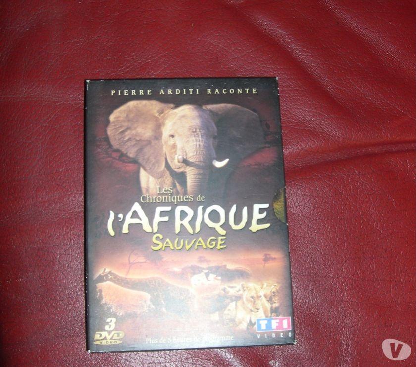 Photos Vivastreet DVD X 3 CHRONIQUES DE L'AFRIQUE SAUVAGE