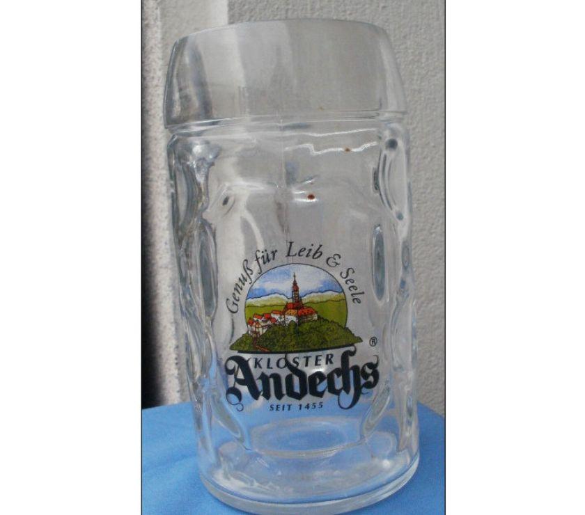 Photos Vivastreet Chope à bière ANDECHS contenance 0,5 l