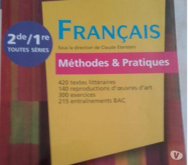 Photos Vivastreet Livre FRANçAIS Méthodes et pratiques lycée