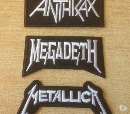 Photos Vivastreet lot 3 écusson brodé anthrax megadeth metallica