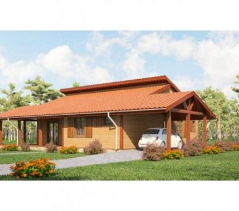 Photos Vivastreet Maisons en madrier 120x140-RT2012- Projet Peuplier