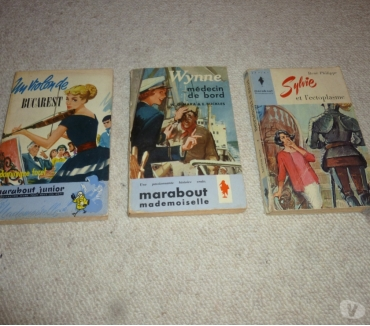 Photos Vivastreet 3 anciens livres Marabout Junior (1959 -1964)