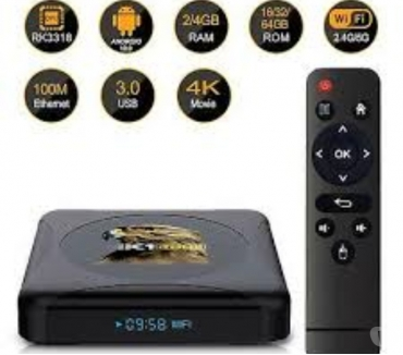 Photos Vivastreet HK1 RBOX Android 10.0 TV Box 2.4G & 5G