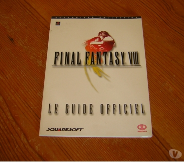 Photos Vivastreet Final Fantasy 8 guide officiel