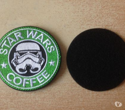 Photos Vivastreet écusson starwars trooper détournement logo starbuck coffee