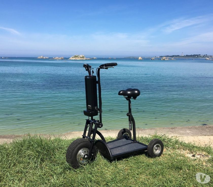Matériel de sport Finistère Guipavas - 29490 - Photos Vivastreet Scooter Trottinette électrique à 3 roues HAPPY SCOOT