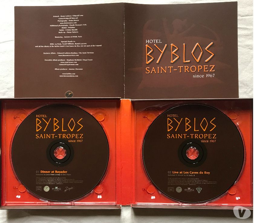 Photos Vivastreet CD Hotel Byblos Saint-Tropez Since 1967 Compilation