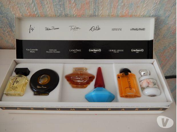 coffret 6 miniatures eau de parfum de paris mima ste. Black Bedroom Furniture Sets. Home Design Ideas