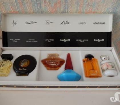 Photos Vivastreet Coffret 6 miniatures eau de parfum de Paris ( mima)