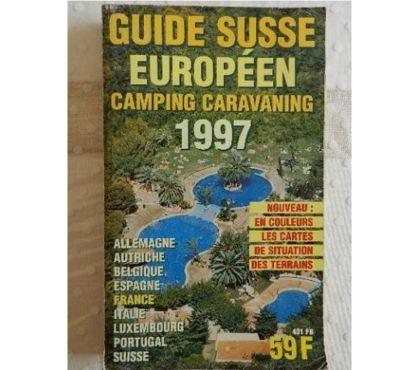 Photos Vivastreet Guide Suisse européen. Camping caravaning 1997.