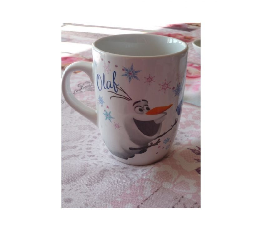 Photos Vivastreet Mug Frozen Disney reine neige Olaf Elsa anime TV manga