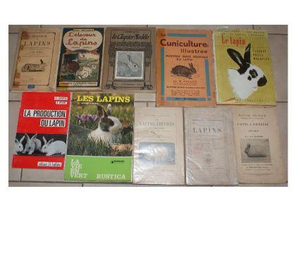 Photos Vivastreet 60€ seulement ces 10 livres sur lapins et livres dont des tr