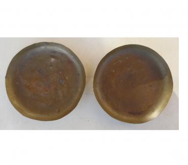 Photos Vivastreet Plateaux de 18 cm en cuivre pour balance Roberval 5 kg