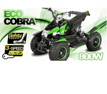 Photos Vivastreet 800W Eco Cobra 2 Miniquad Quad Électrique OCCASION
