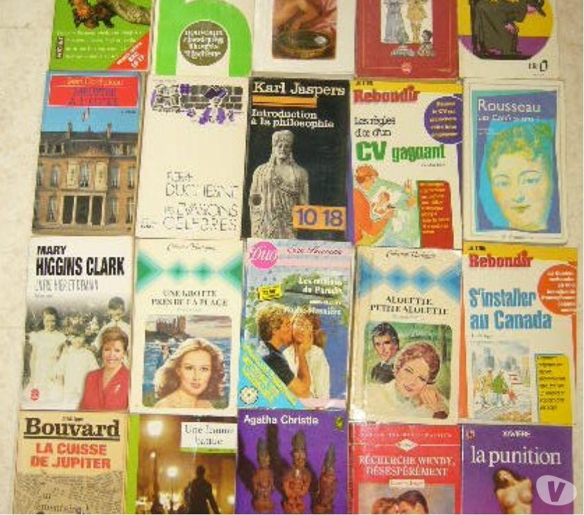 Photos Vivastreet lot de livres exc etat