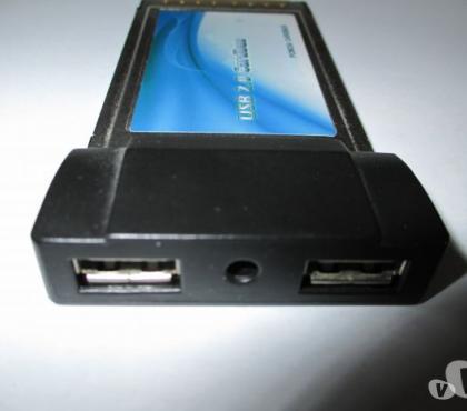 Photos Vivastreet CARDBUS PCMCIA USB