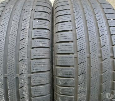 Photos Vivastreet 2 pneus neige 2454518 100V Continental TBE