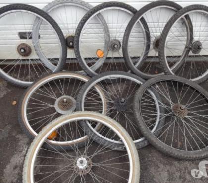 Photos Vivastreet roues velo avant et arriere vtt 26 pouces