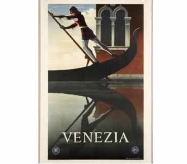 Photos Vivastreet Affiche Venezia, de Cassandre, 1951
