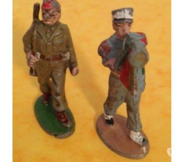 Photos Vivastreet Figurines QUIRALU 2 SOLDATS