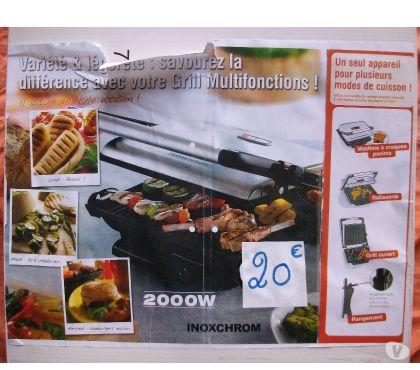 Photos Vivastreet Grill Multifonctions de Table- Neuve