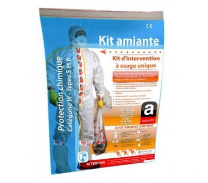 Photos Vivastreet kit de protection fibre d'amiant toutes tailles