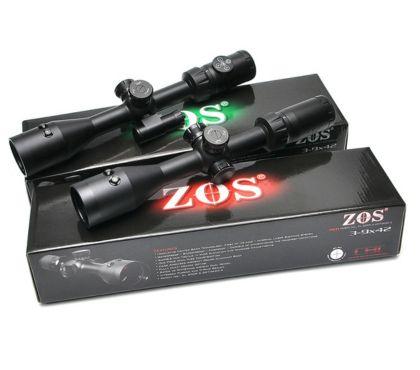 Photos Vivastreet LUNETTE de tir avec laser intégré 3-9x42