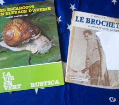 Photos Vivastreet les ESCARGOTS-1982-le BROCHET-1943-Rustica anciens- zoe