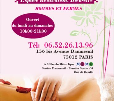 Photos Vivastreet MASSAGE DE BIEN ETRE