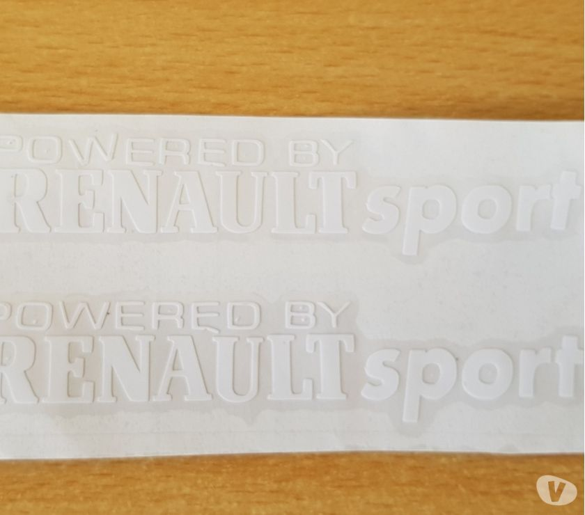 Photos Vivastreet paire d'autocollants Renault sport tout support