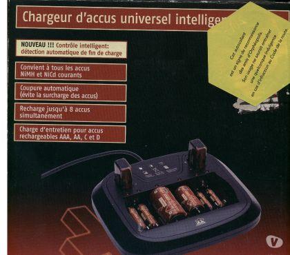 Photos Vivastreet chargeur d'accus universel intelligent médion neuf