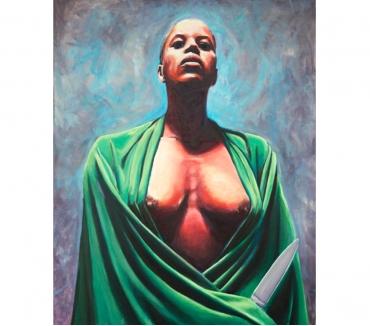 Photos Vivastreet Tableau Acrylique déco femme torse nue vert turquoise