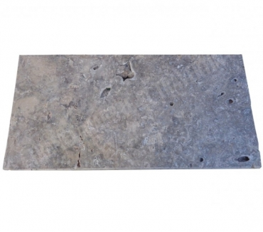 Photos Vivastreet Travertin Silver Nez de Marche 30x60 3 cm Ogee EN STOCK