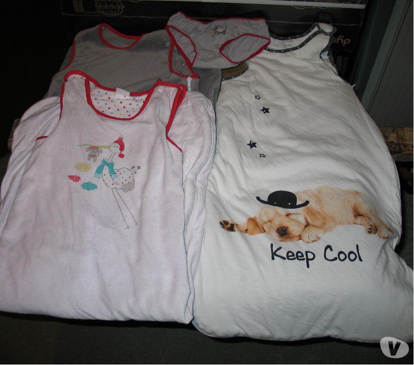 Vêtements bébés Essonne Quincy sous Senart - 91480 - Photos Vivastreet Gigoteuses marque KIABI