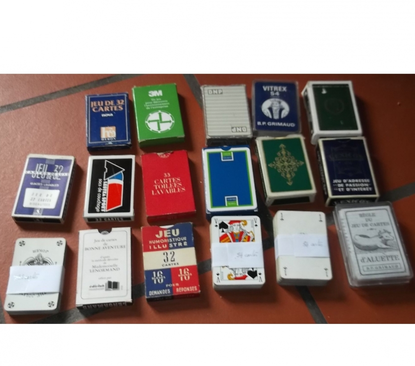 Photos Vivastreet Jeux de cartes divers