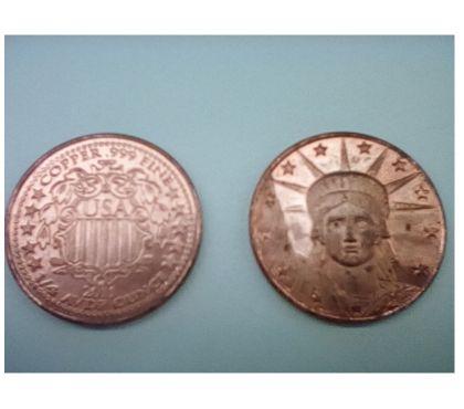 Photos Vivastreet OFFRE Bullion de Cuivre de 1 4 oz (un quart oz) USA