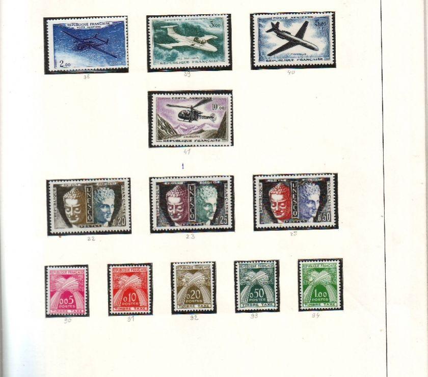 Collection Landes Mimizan - 40200 - Photos Vivastreet Col timbres 1960 à 1974