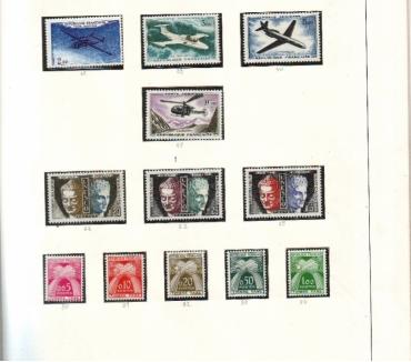 Photos Vivastreet Col timbres 1960 à 1974