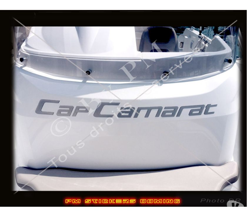 Photos Vivastreet Sticker Cap Camarat Doming Relief 3D fait main