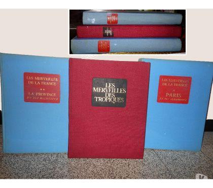 Photos Vivastreet 3 gros livres de FRANCE et des TROPIQUES, 330pages