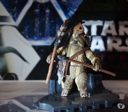 Photos Vivastreet Figurine star wars ewok vintage collection LOGRAY tvc vc55