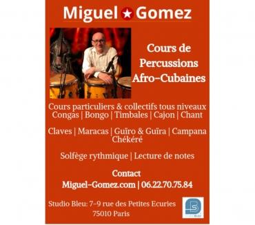 Photos Vivastreet COURS DE PERCUSSIONS AFRO-CUBAINES - MIGUEL GOMEZ